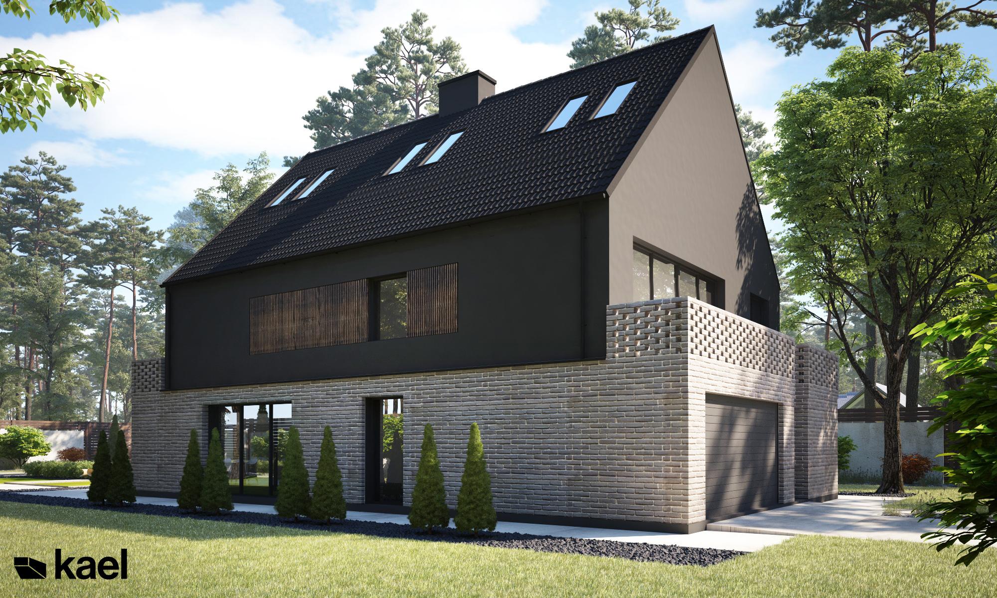 Projekt Marki - dom jednorodzinny