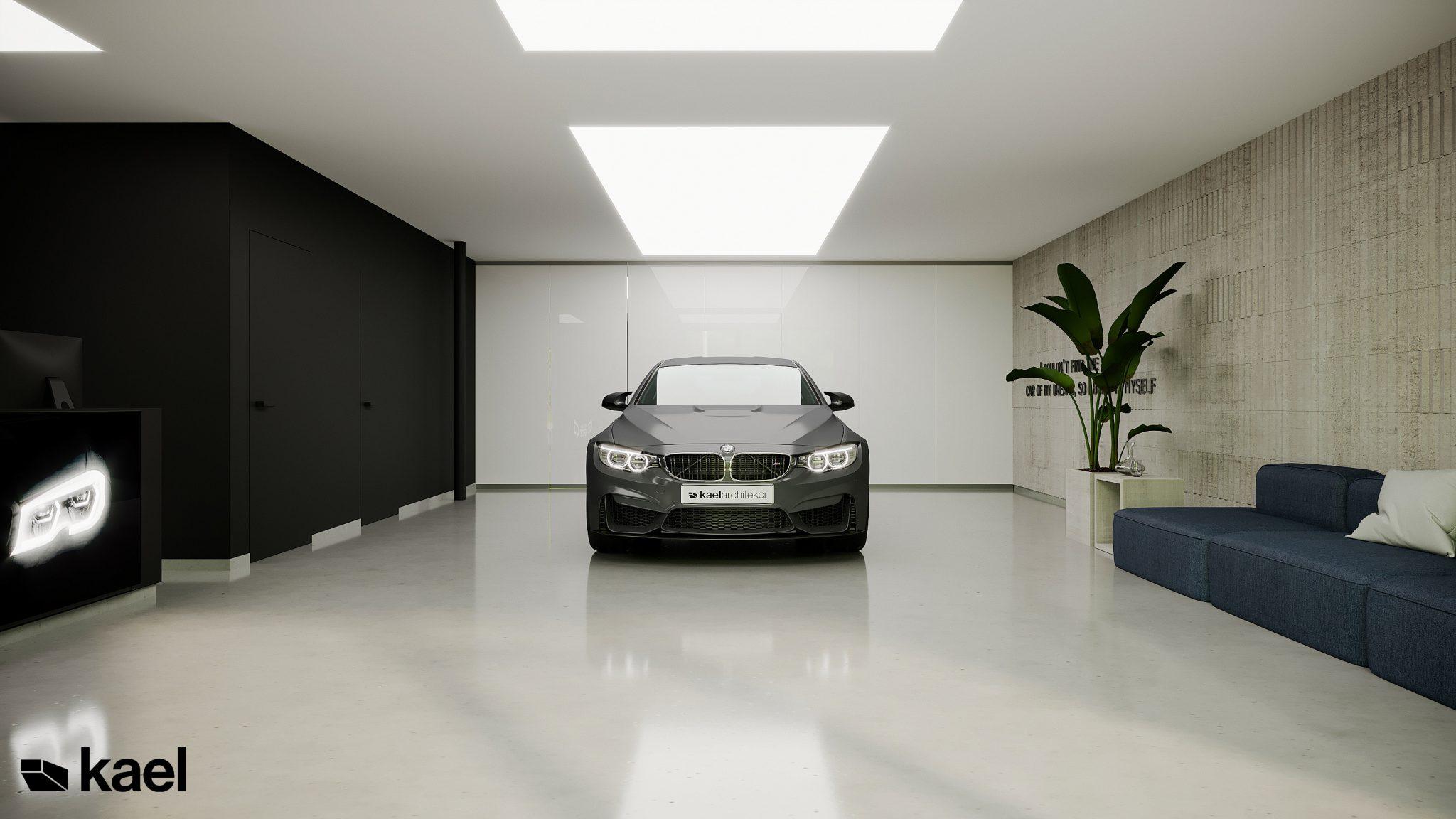 Projekt warsztatu BMW
