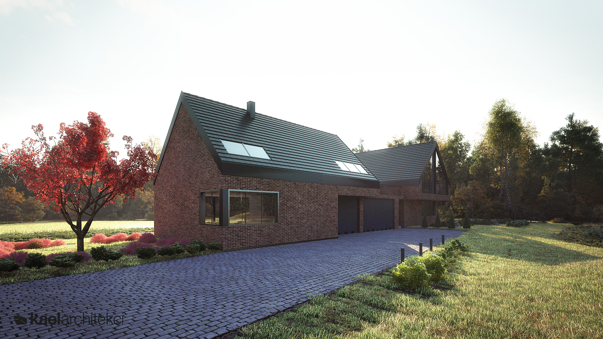 Projekt indywidualny domu jednorodzinnego