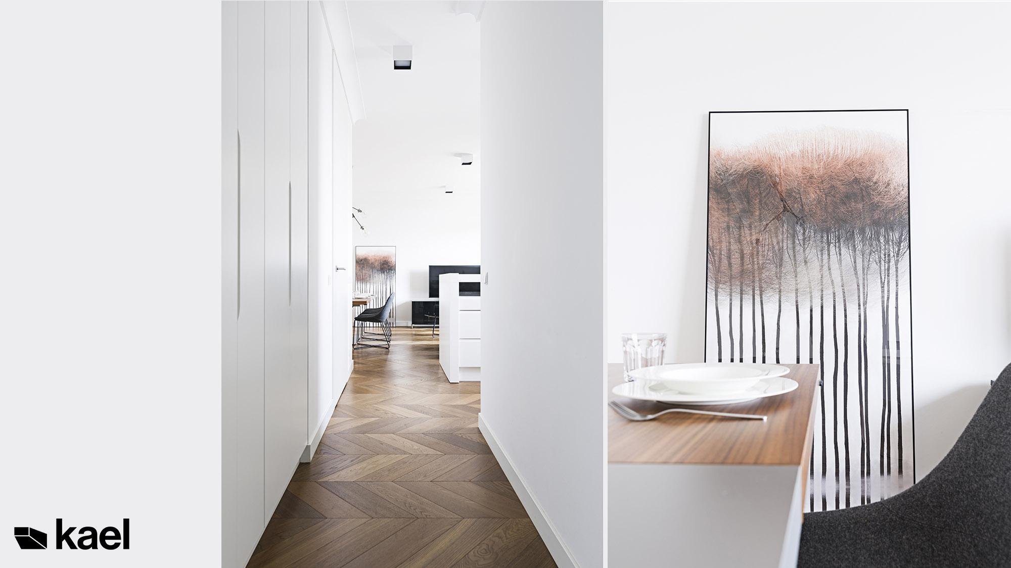 Zdjęcia realizacji mieszkania w Warszawie