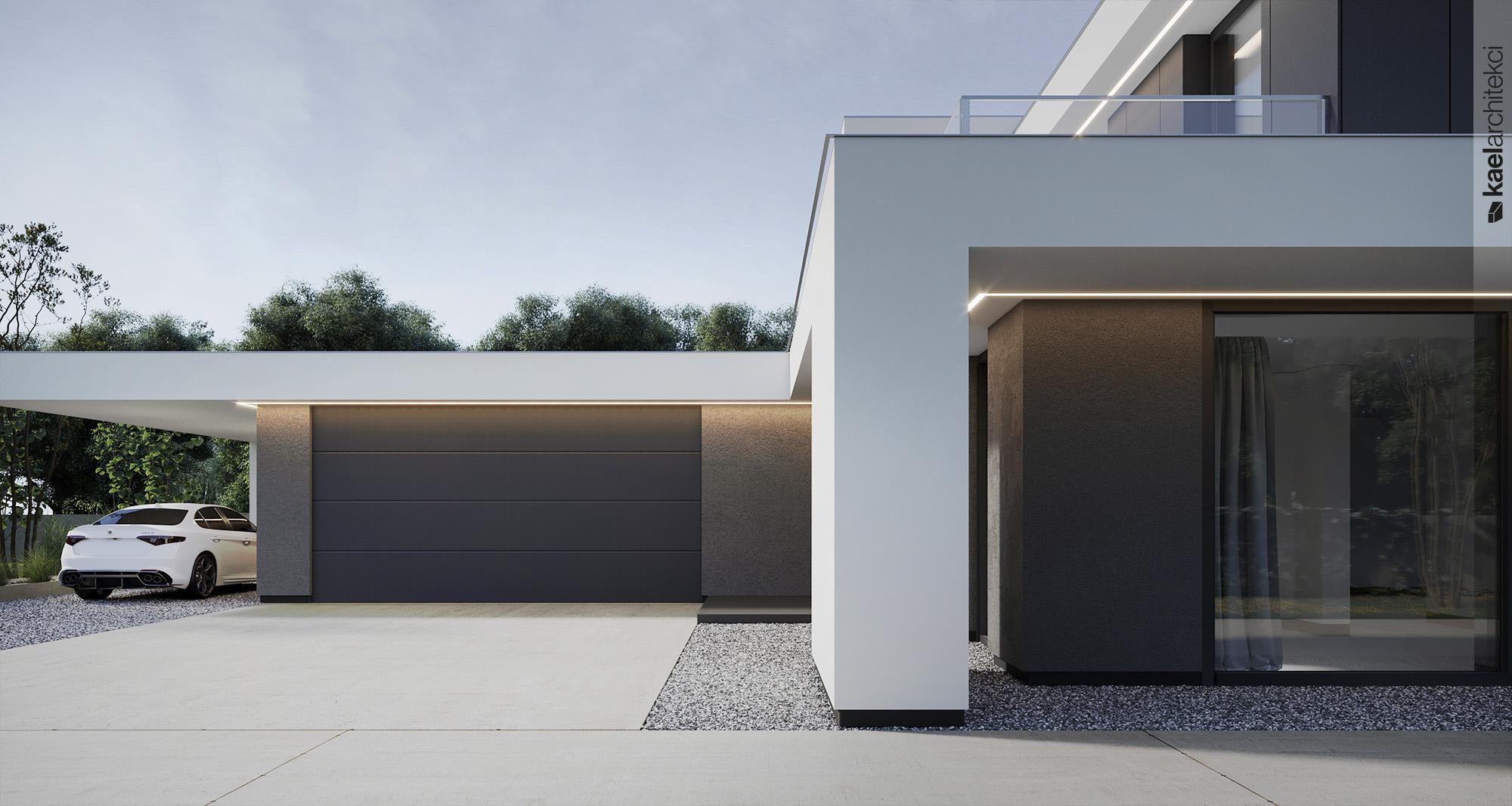 Brama garażowa bez nadproża