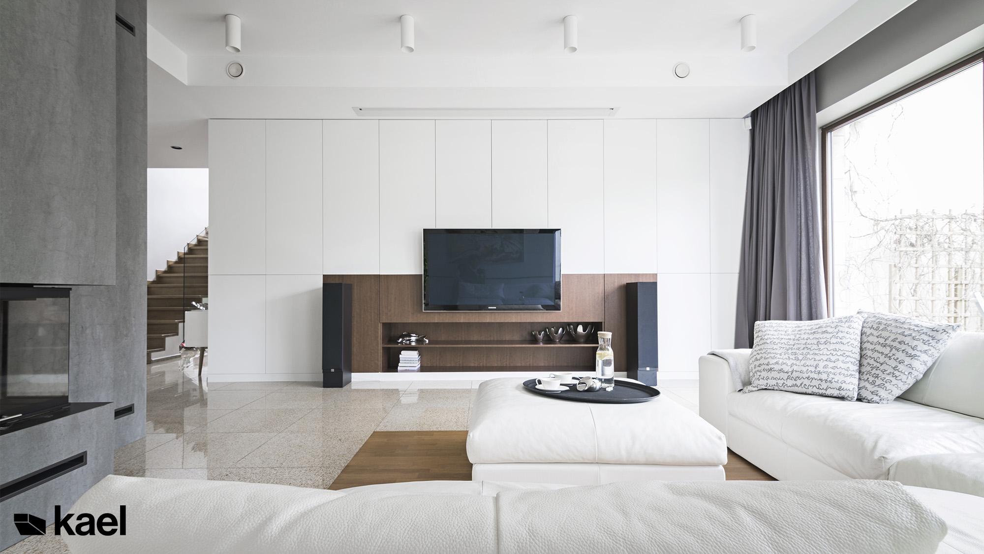Telewizor Samsung w salonie