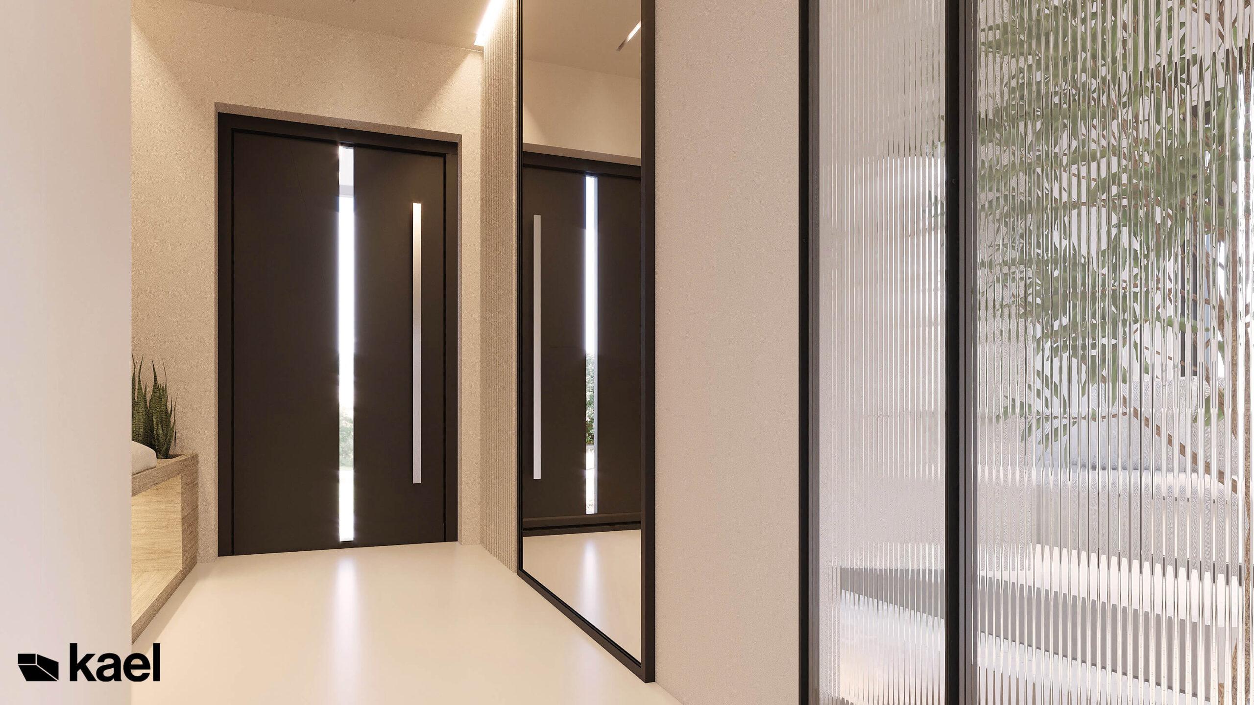 lustra w korytarzu