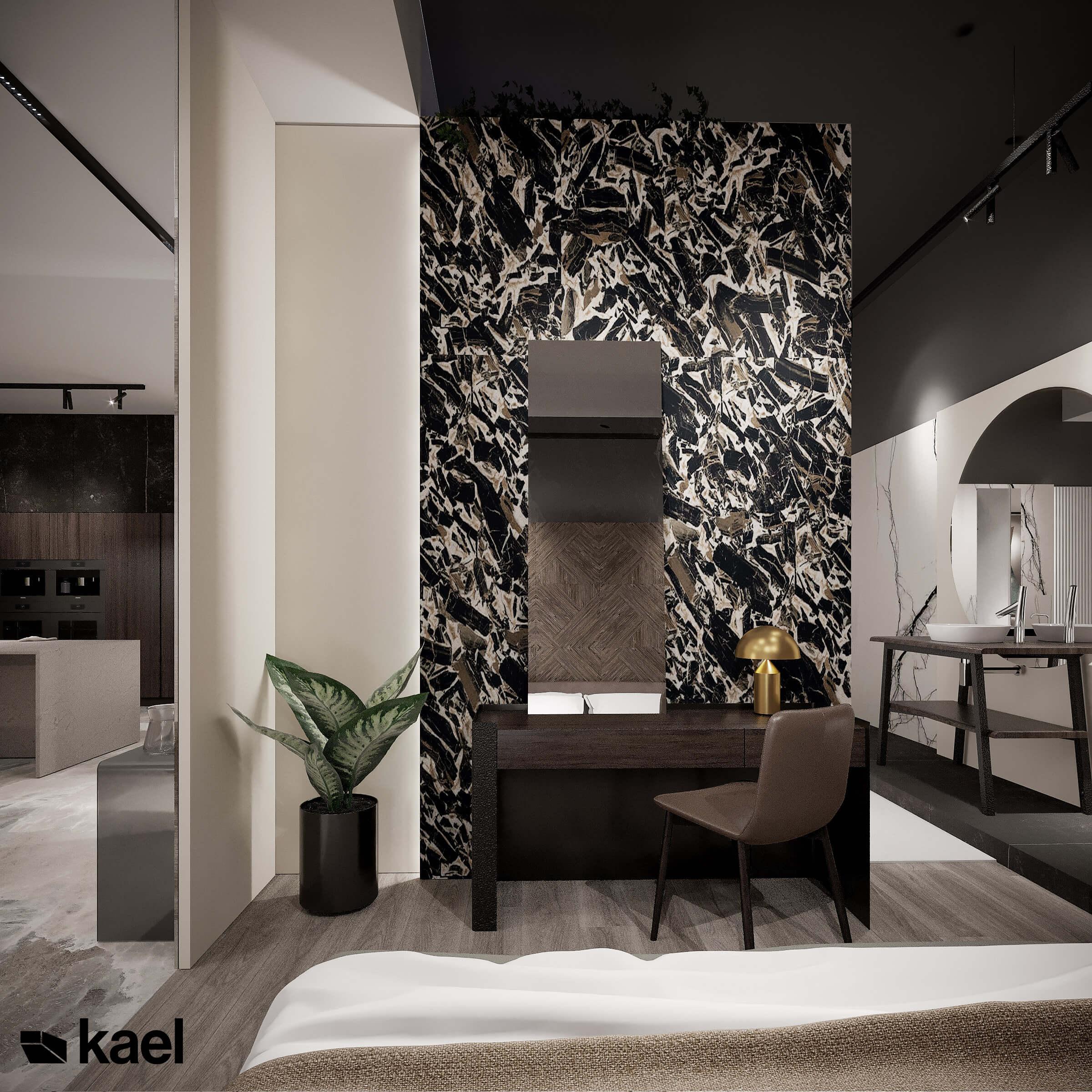 Projekt salonu łazienkowego Camero Design w Lublinie