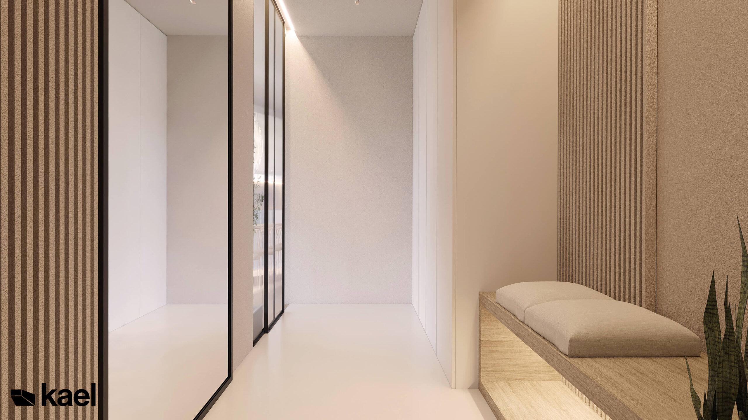 minimalistyczna przestrzeń