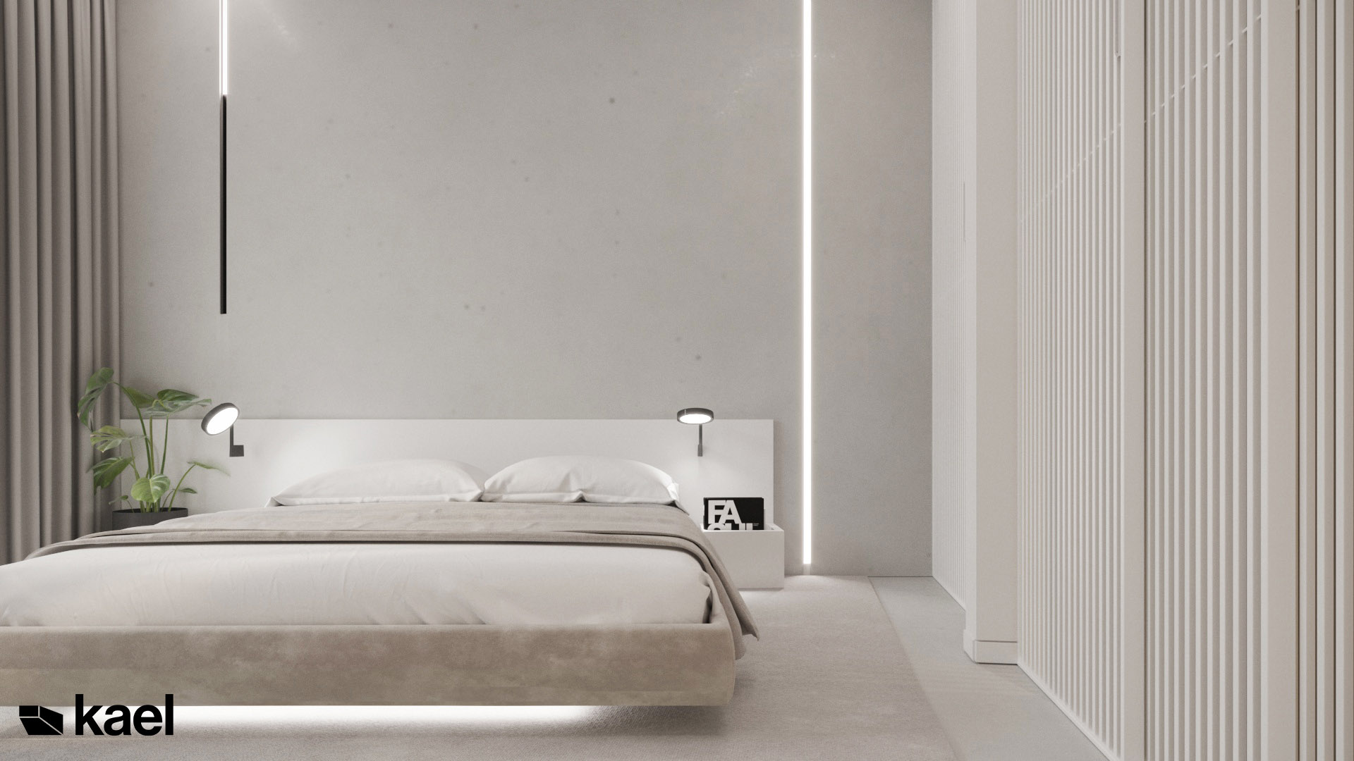 Jasna sypialnia - Kael Projekt Wielicka
