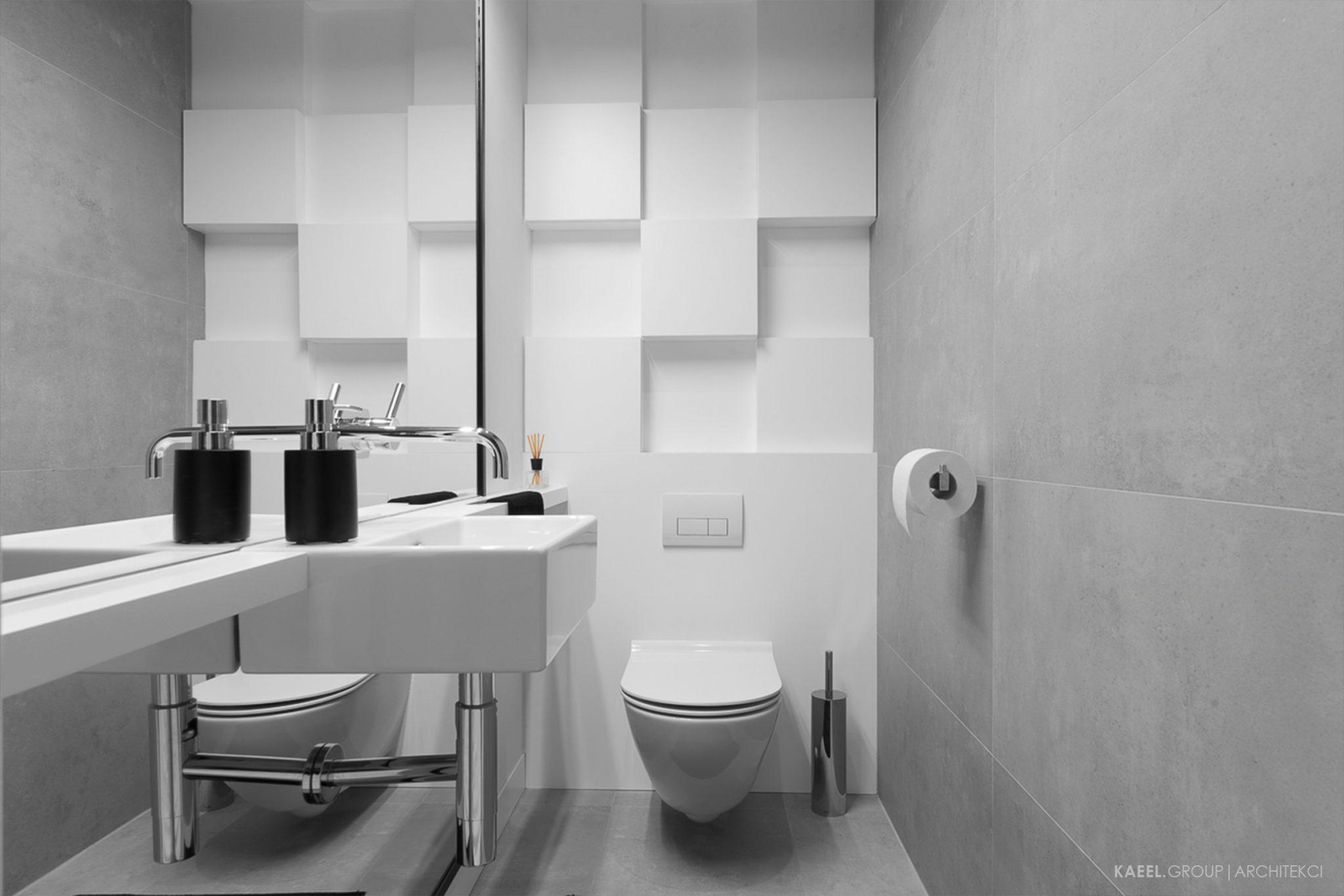 Betonowy wc