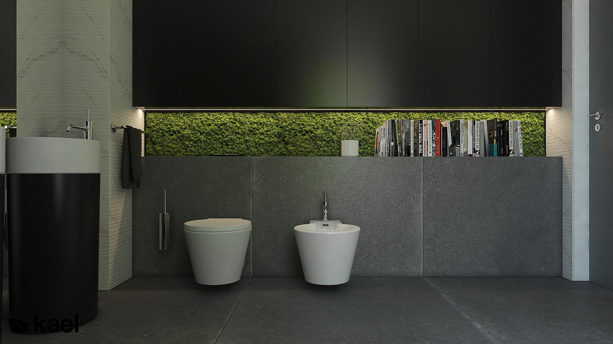 Mech laboratoryjny w łazience