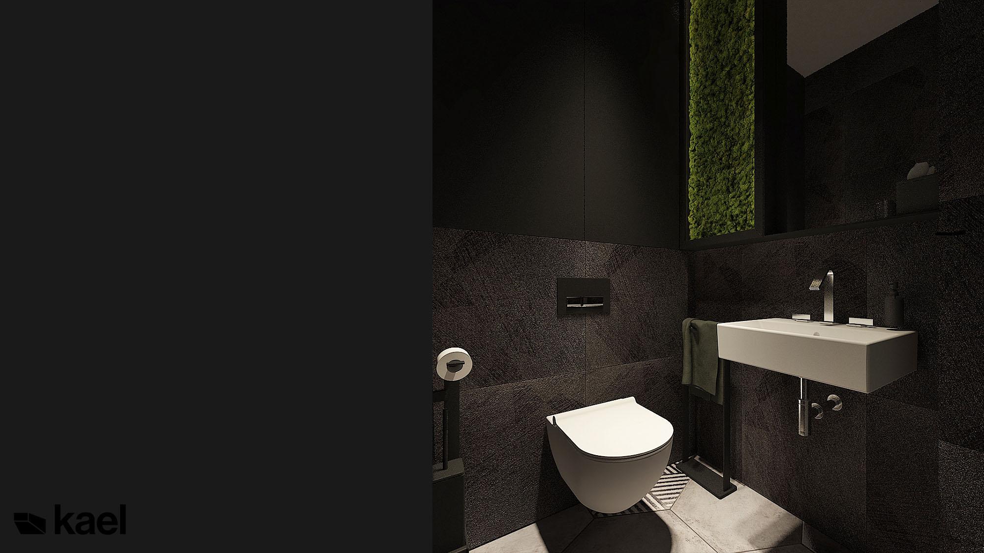 Czarne wc