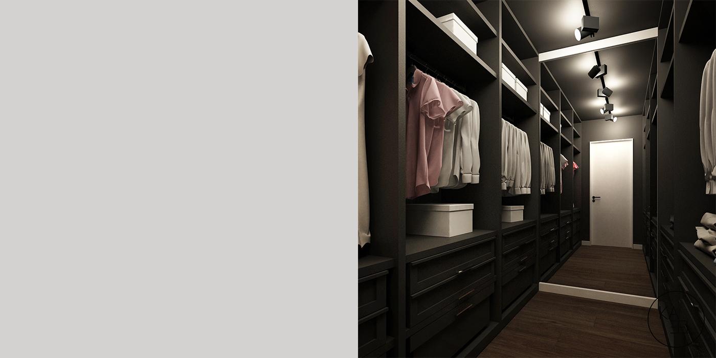 Projektowana garderoba