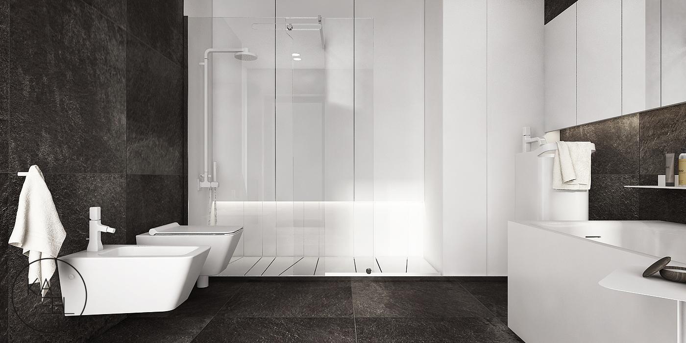 Projektowany prysznic