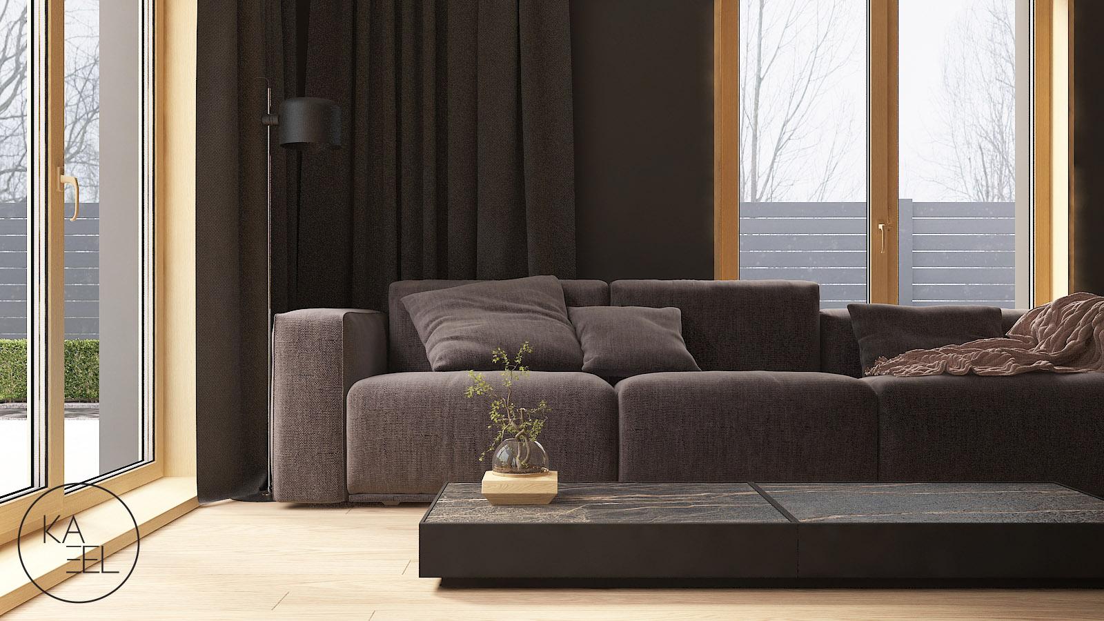 Sofa modułowa w projekcie Mozaika