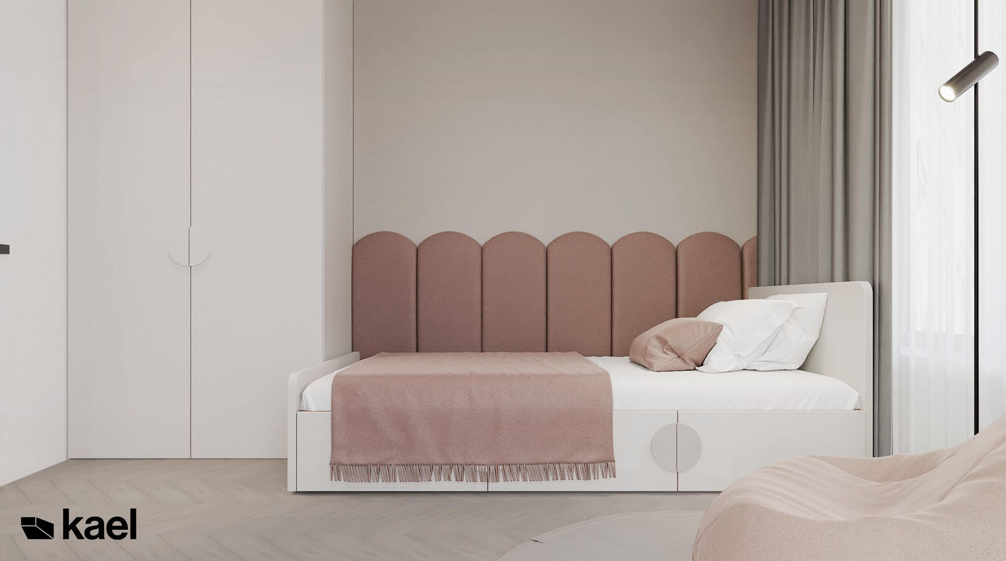 łóżko dziewczynki