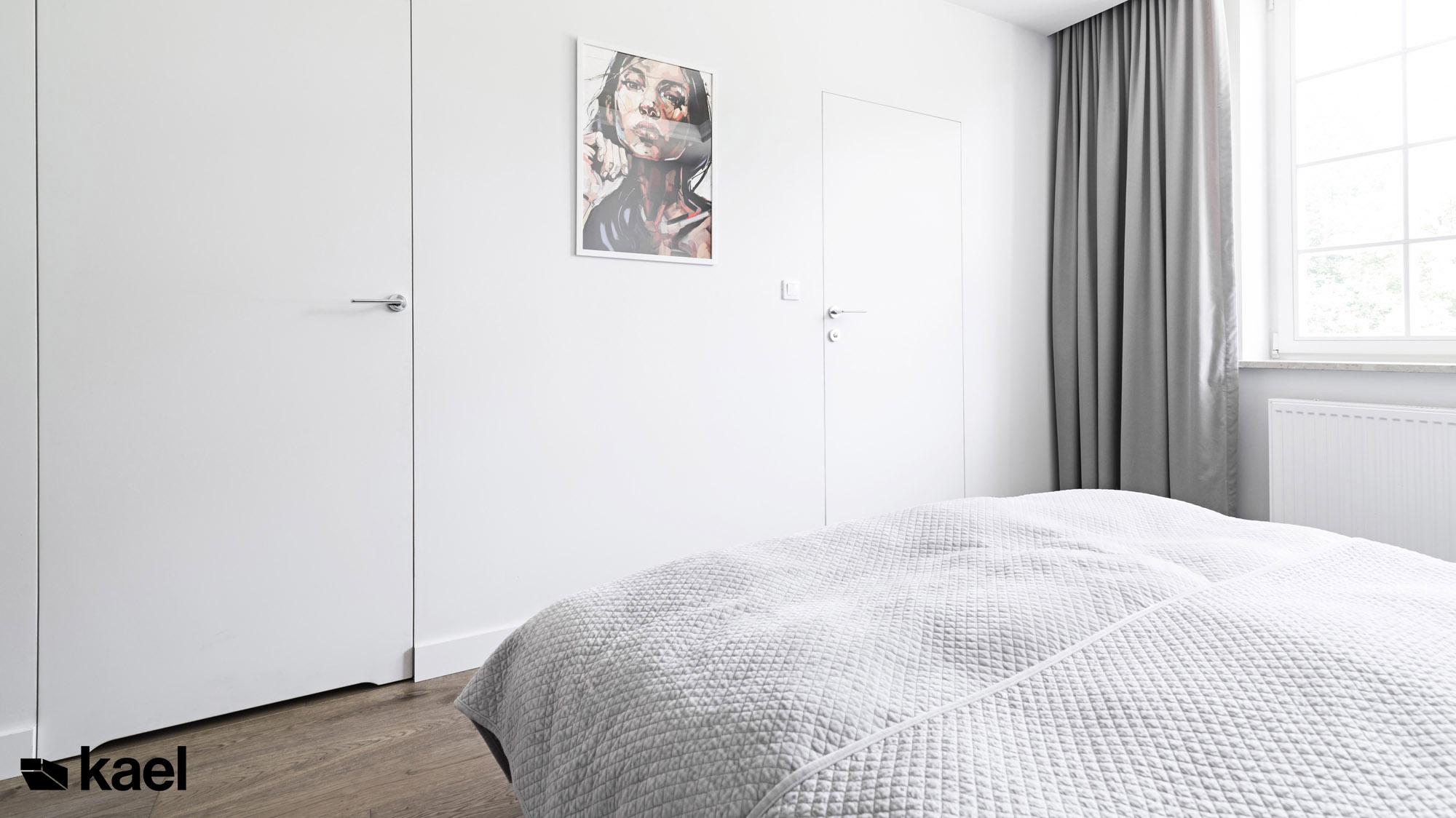 Czerwonych Dębów - projekt wnętrza sypialni