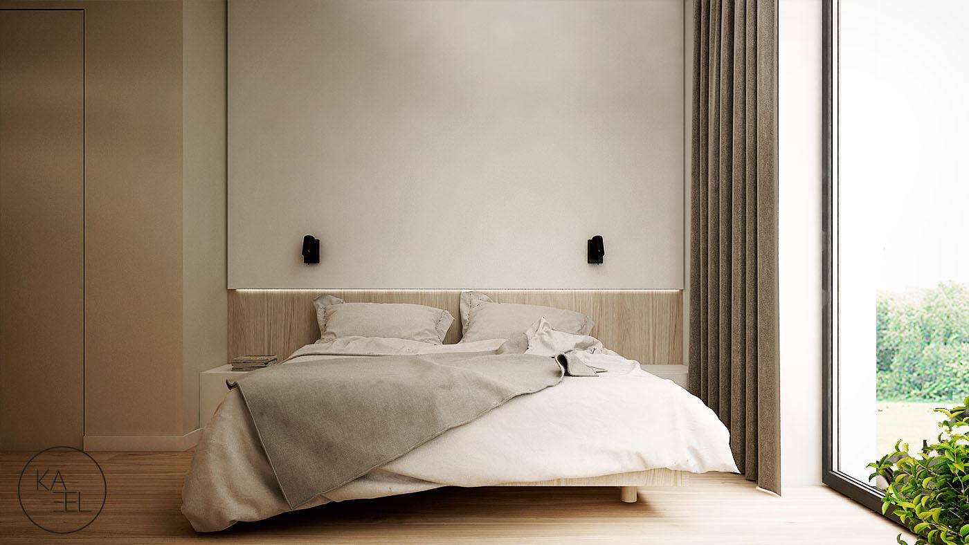 Kinkiety w sypialni